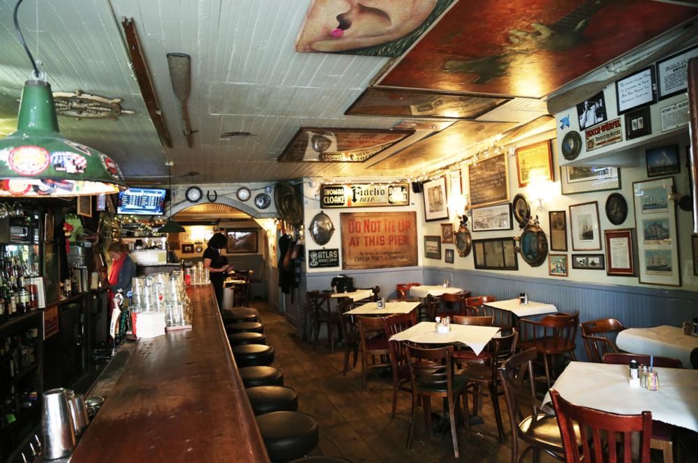 The very historic Ear Inn.