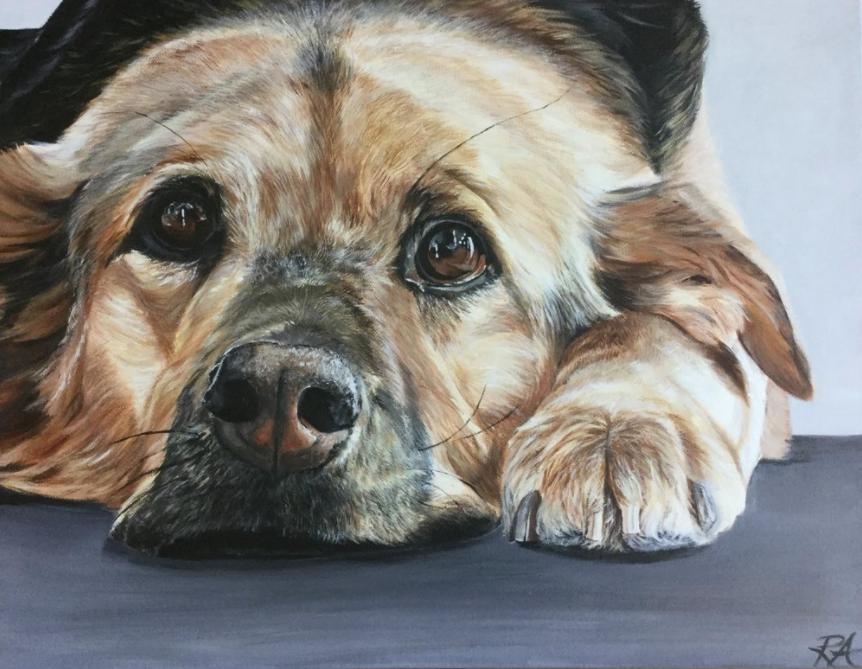 Nose Prints — Painted Pet Portraits