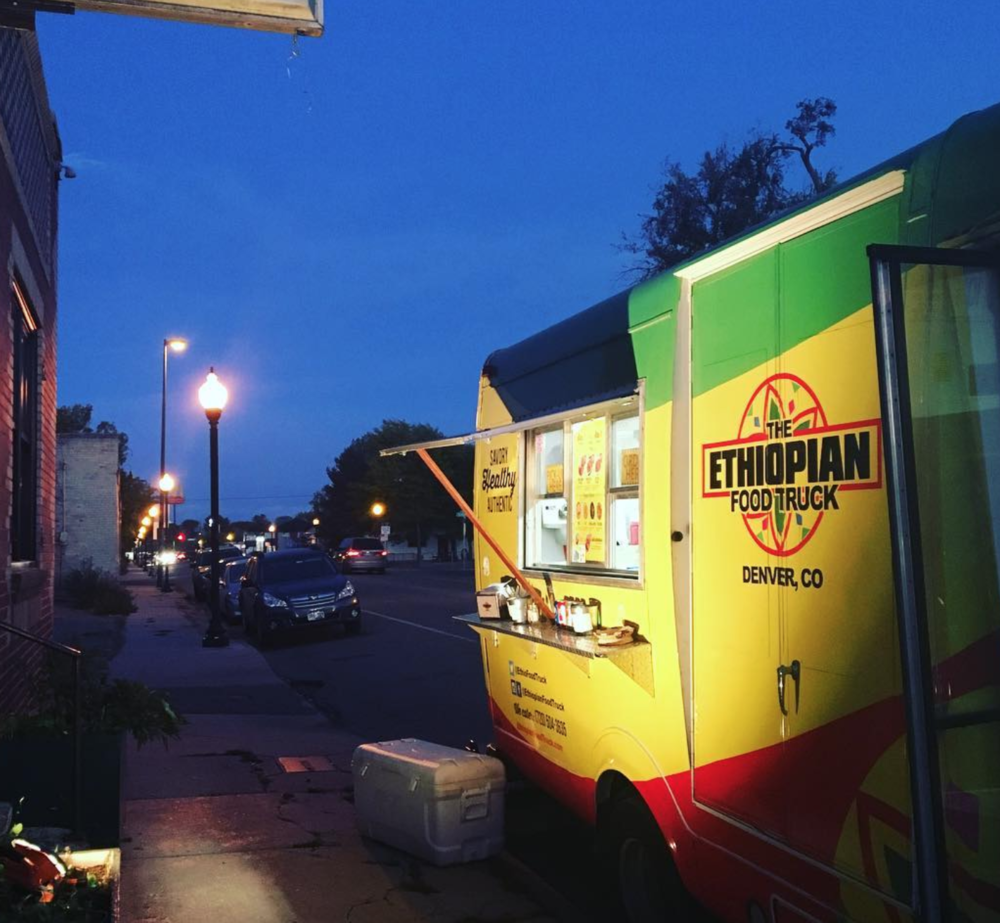 The Ethiopian Food Truck