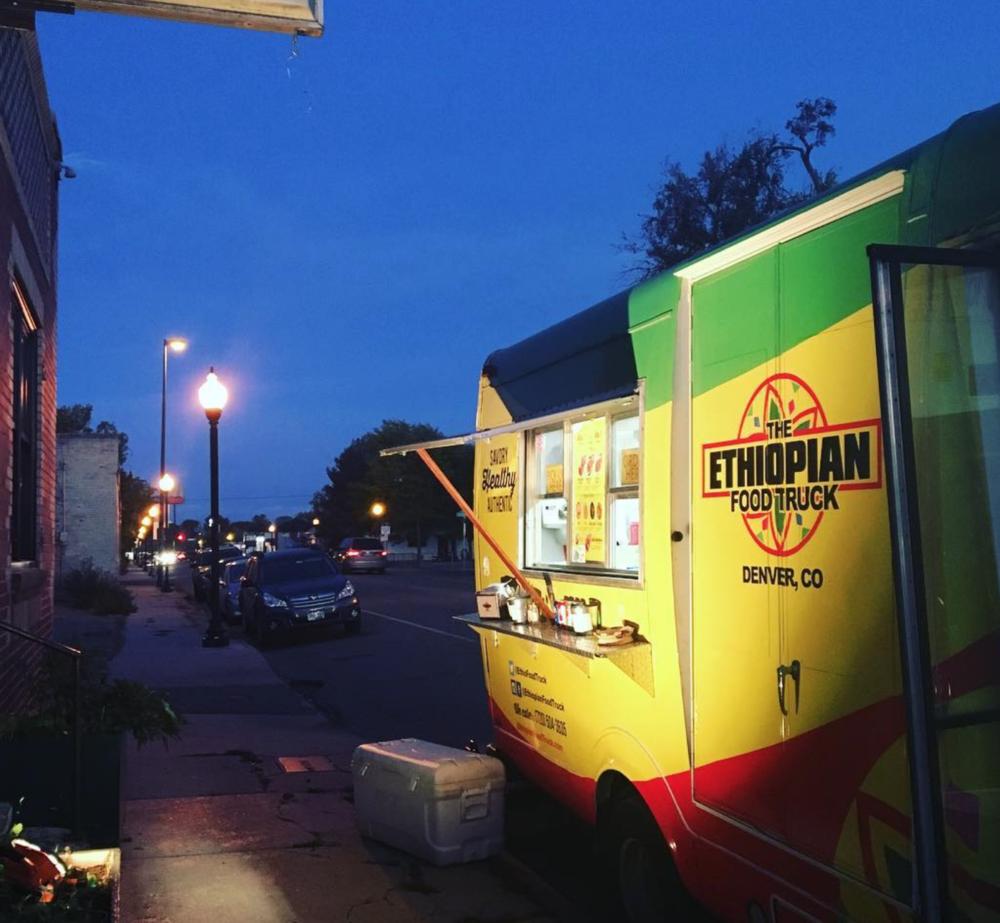 The Ethiopian Food Truck