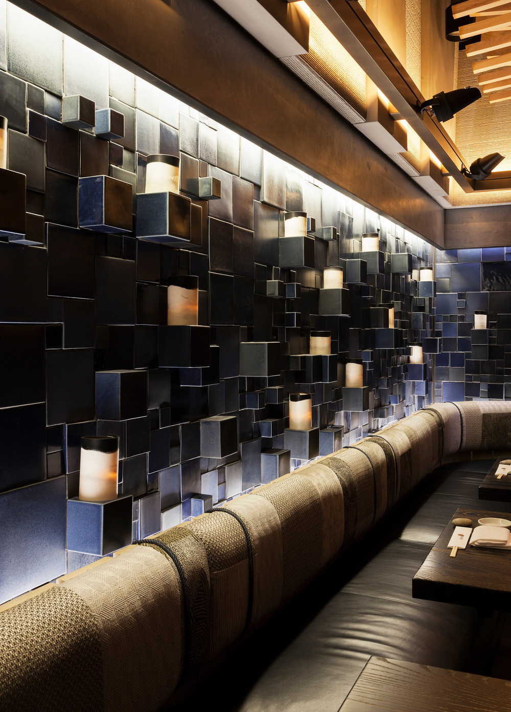 "Nobu Downtown   Project opening: 2017 | Completed at Rockwell Group | Role: Interior Designer               96                Normal     0                     false     false     false         EN-US     X-NONE     X-NONE                                                                                                                                                                                                                                                                                                                                                                                                                                                                                                                                                                                                                                                                                                                                                                                                                                                                                                                                                                                                                                                                                                                                                                                                                                                                                                                                                                                                                                                                                                                                                                                                                                                                                                                                 /* Style Definitions */ table.MsoNormalTable 	{mso-style-name:""Table Normal""; 	mso-tstyle-rowband-size:0; 	mso-tstyle-colband-size:0; 	mso-style-noshow:yes; 	mso-style-priority:99; 	mso-style-parent:""""; 	mso-padding-alt:0in 5.4pt 0in 5.4pt; 	mso-para-margin:0in; 	mso-para-margin-bottom:.0001pt; 	mso-pagination:widow-orphan; 	font-size:12.0pt; 	font-family:Calibri; 	mso-ascii-font-family:Calibri; 	mso-ascii-theme-font:minor-latin; 	mso-hansi-font-family:Calibri; 	mso-hansi-theme-font:minor-latin;}     Laura played a leading role in the design of this 12,500-square-foot restaurant. The Rockwell Group design team was tasked with rethinking the 20 year old iconic New York flagship to bring it's brand and spirit into the interior landmarked beaux arts building where, on the lobby floor, no permanent construction could be done. Laura took as many opportunities as possible to specify sustainable finishes. FSC certified timber was used everywhere possible, walls in the downstairs space were coated with shikkui plaster, an air purifying Japanese finish made from finely ground upcycled eggshells. Chairs from the old restaurant were reused and reupholstered in bright colors nodding to Nobu's Peruvian fusion culinary heritage.    Award:  Interior Design NYCxDESIGN: BEST RESTAURANT 2017   Photo credit to Stephanie Hildebrand and Eric Laingel Photography."