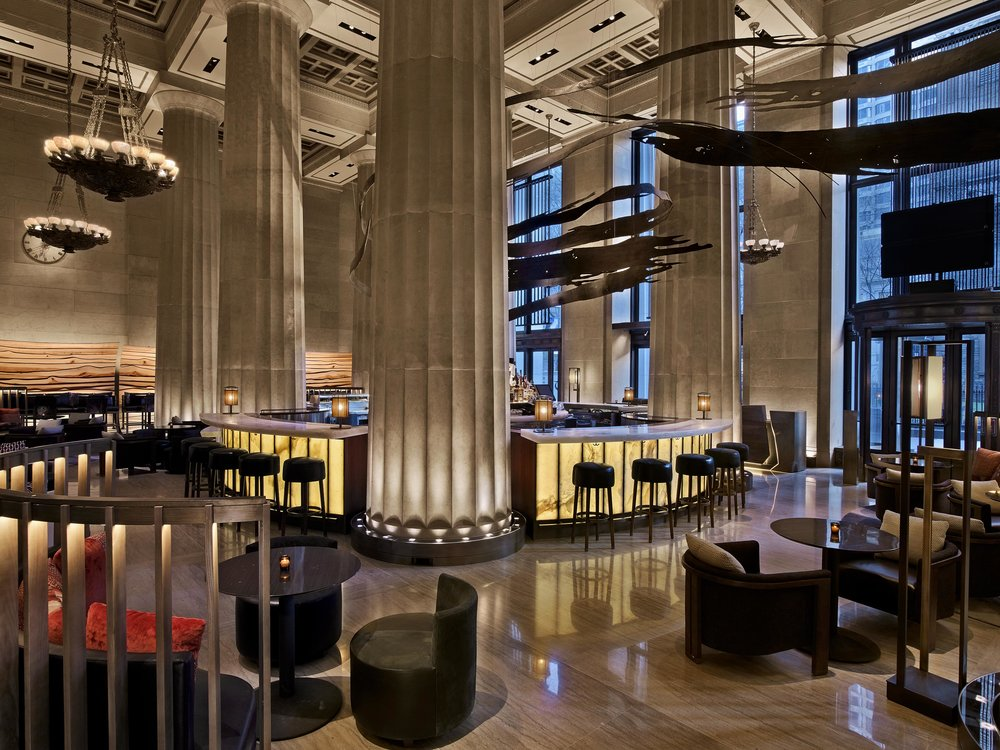 Nobu Downtown New York Interior Design