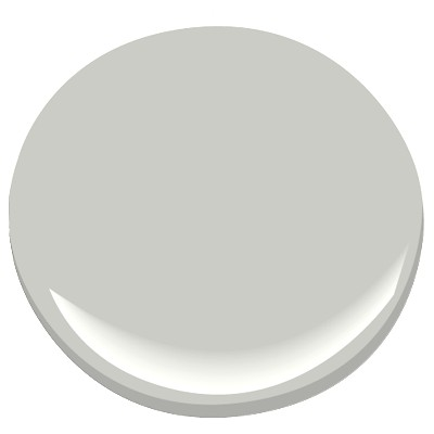 My favorite Neutral Cool Grey - I used this color in my own living room - Benjamin Moore HC-170 Stonington Grey