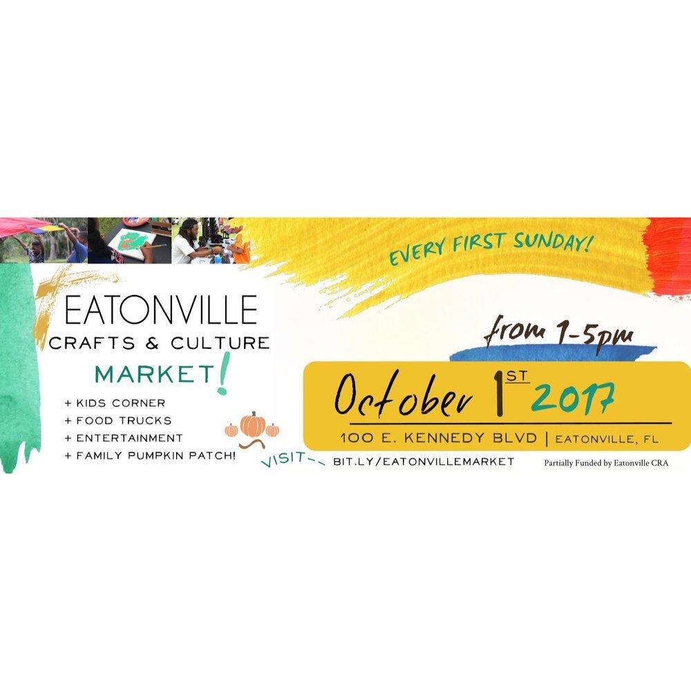 Eatonville Crafts + Culture Market (2017)