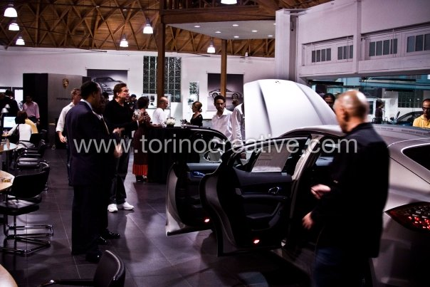 Kitchen12000 Launch Event for Porsche Panamera Release