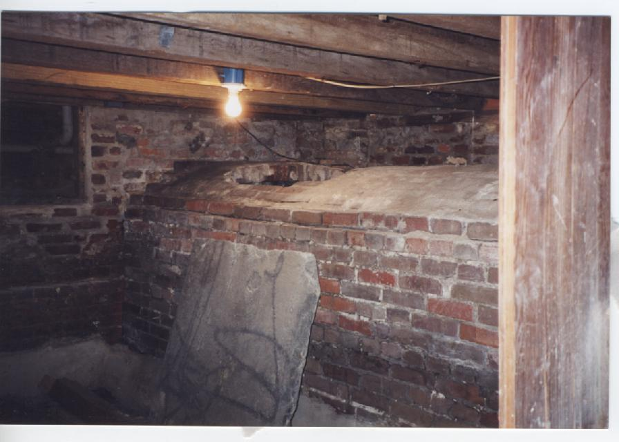 CISTERN IN BASEMENT