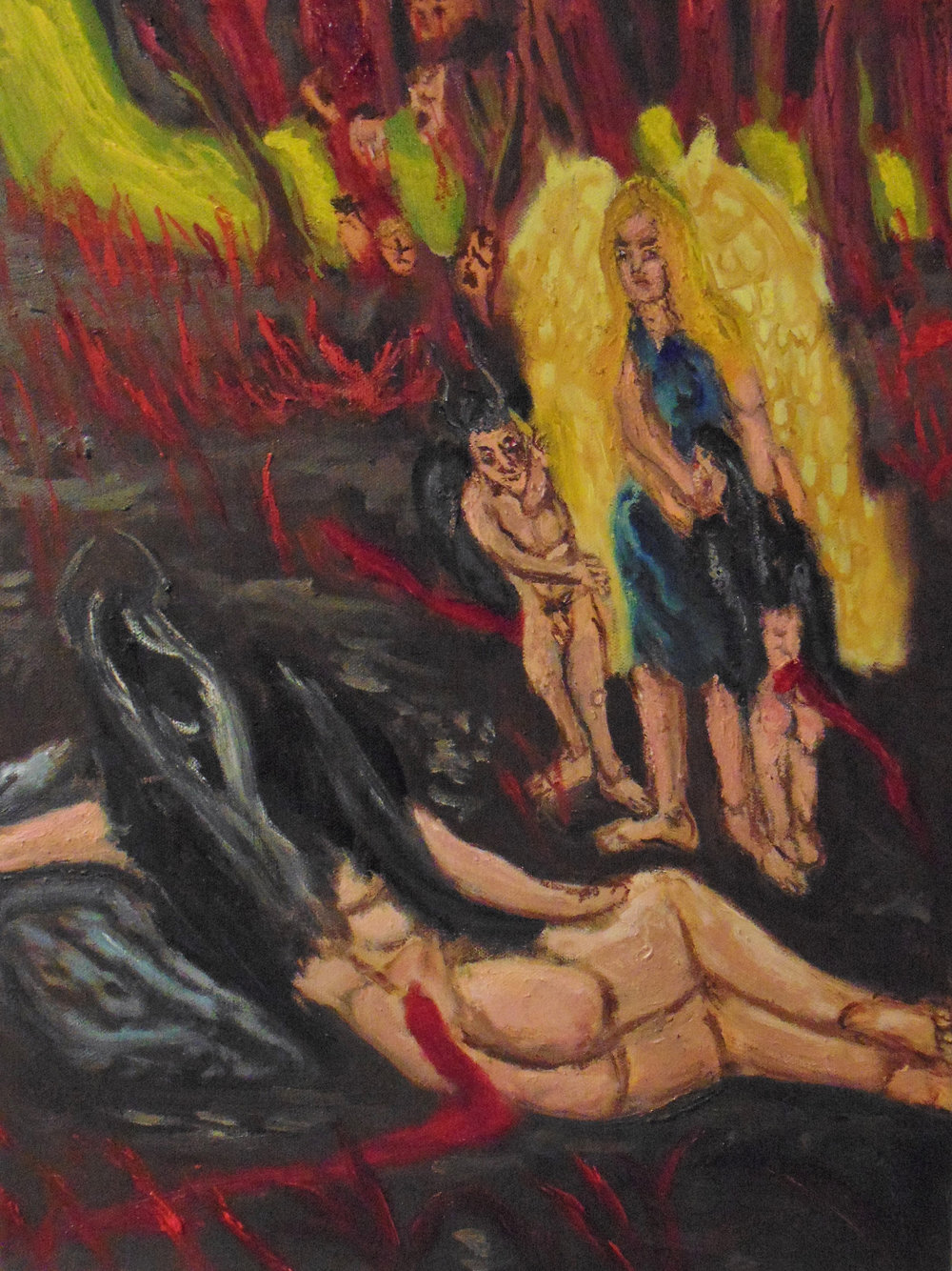 Angel and Demon in the Garden of Evil painting.jpg