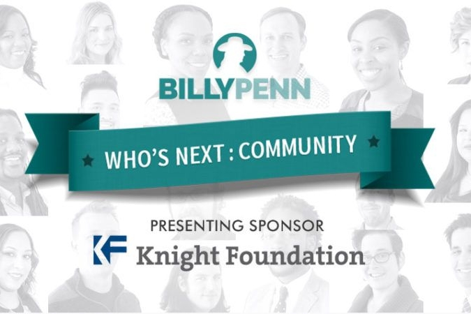 Who's Next community leaders and activists: 17 people changing Philly - BILLY PENN