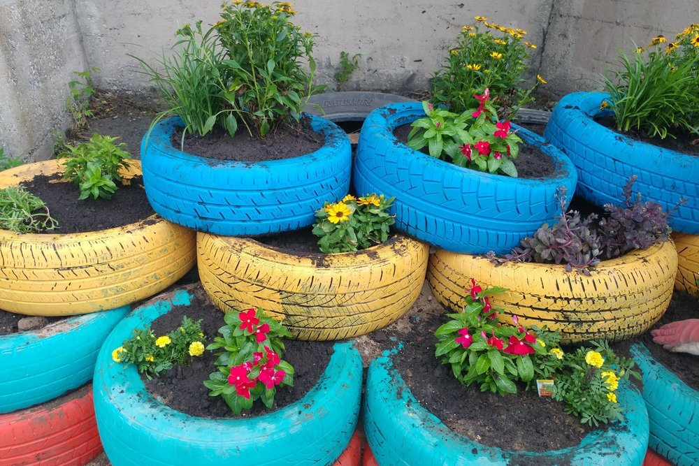 From trash to tire garden treasure - STAR NEWS