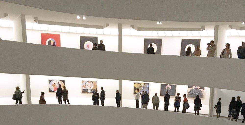 Photo : Hedvig Ersman, Solomon R. Guggenheim Museum in New York.