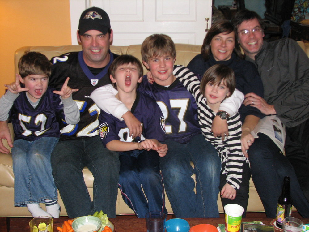 Ravens game on couch.jpg