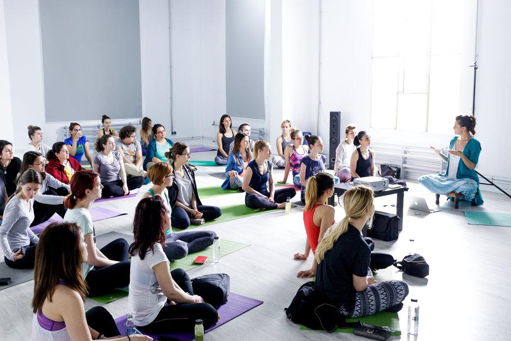 Yoga Day, eveniment organizat de Yoga City.
