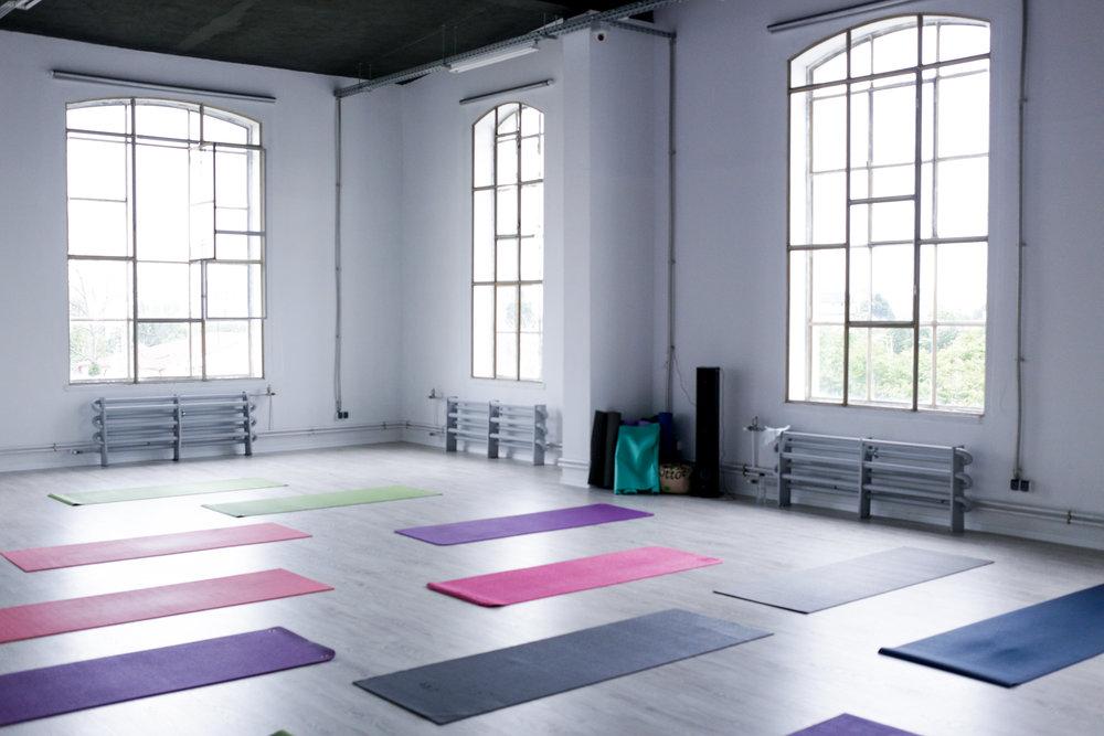 Unul dintre studiourile neconventionale descoperite de Yoga City