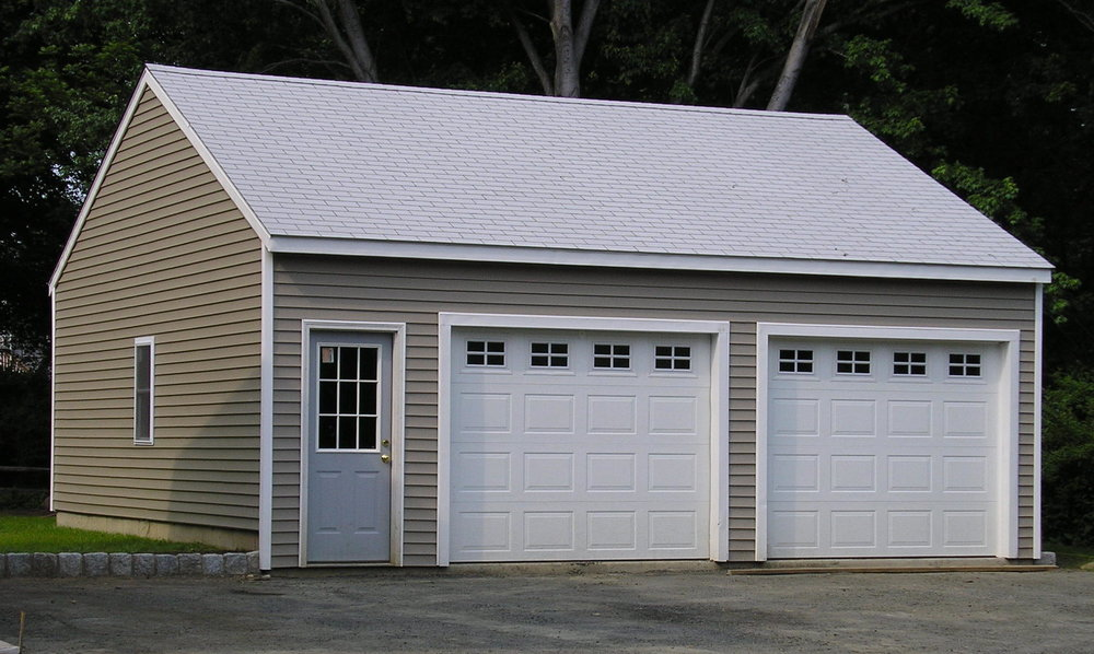 Windsor Garage Two Car Front Service Door 16