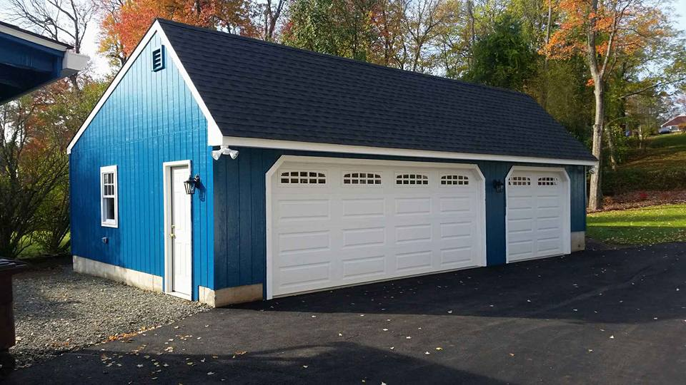 Saltbox Cape Three Car Garage 13