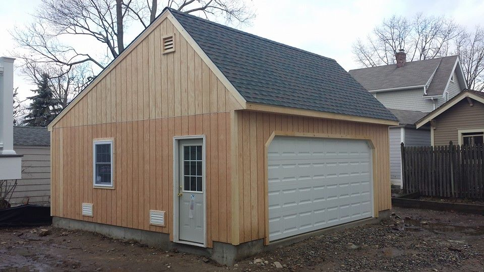 Saltbox Cape Two Car Garage 8