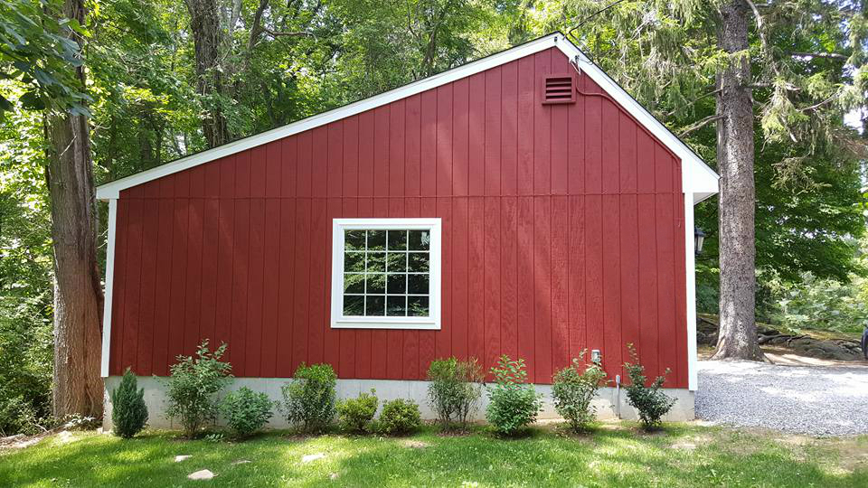 Saltbox Cape Two Car Garage 2
