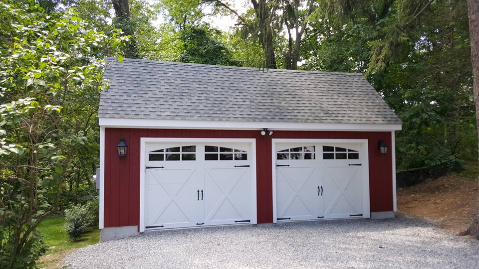 Saltbox Cape Two Car Garage 1
