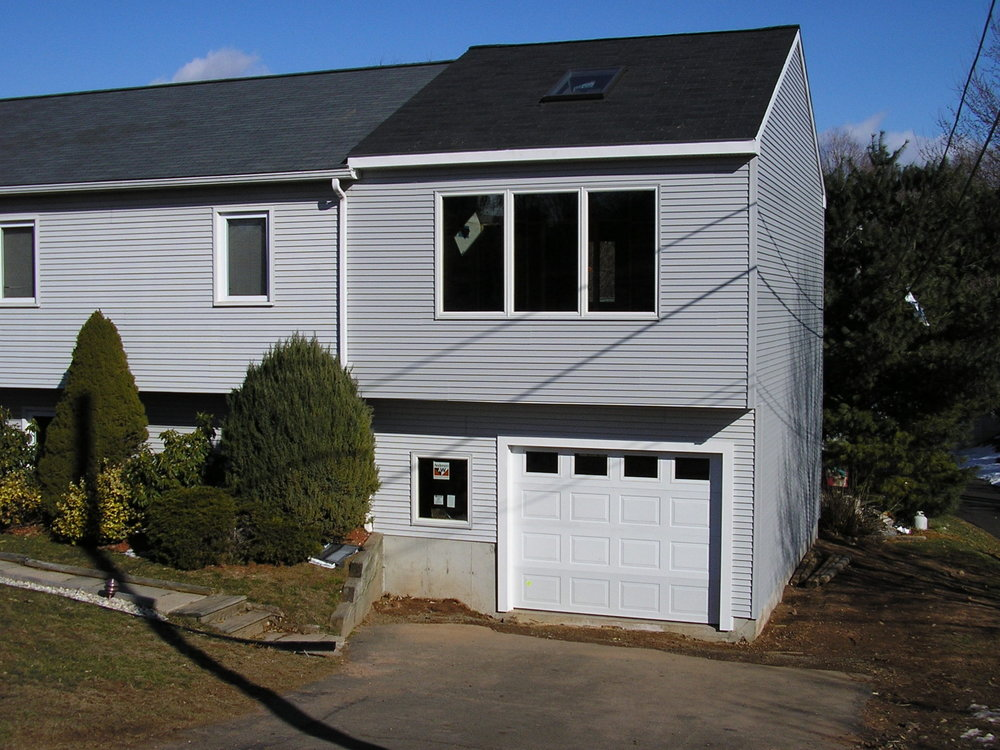 Two story Garage and Room Addition