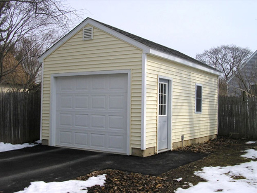 Wedgewood One Car Garage 39