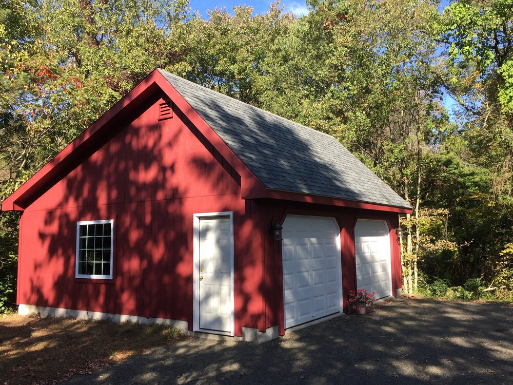 Saltbox Cape Two Car Garage 11