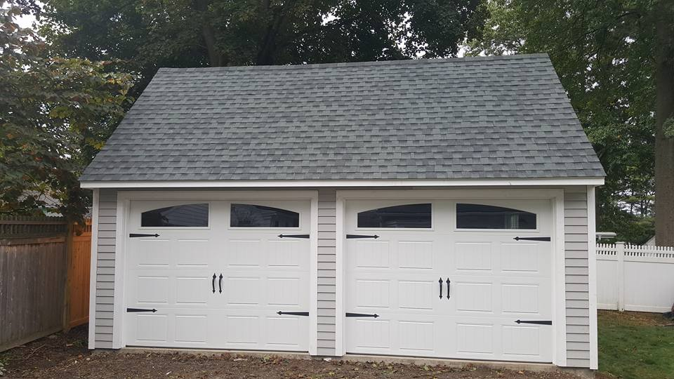 Saltbox Cape Two Car Garage 6