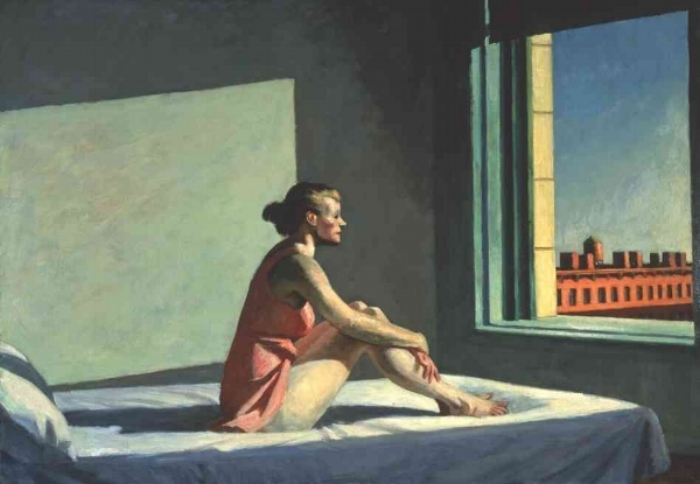 Morning Sun  - Edward Hopper, 1952
