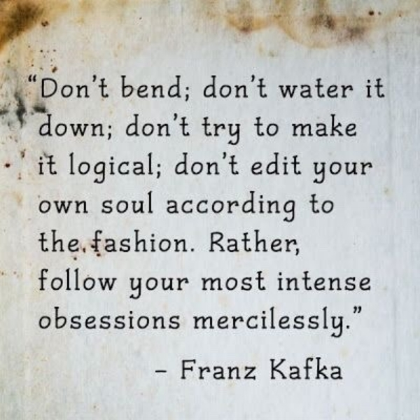 Quote Kafka Dumbing Down A Well Spent Day