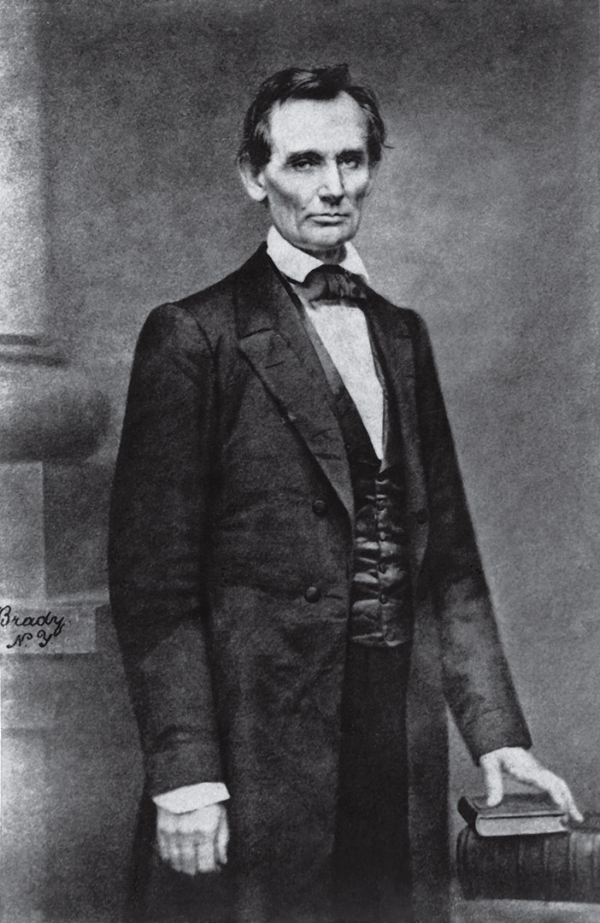 Photograph of Lincoln: Mathew Brady, 1860
