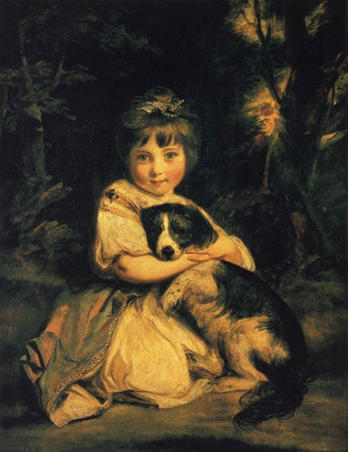Miss Jane Bowles - Joshua Reynolds, 1775