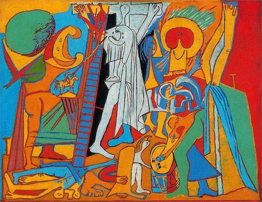 Crucifixion - Pablo Picasso, 1930