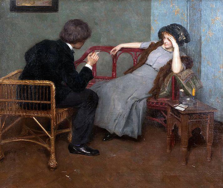 The Couple  - Simon Glucklich, 1863-1943