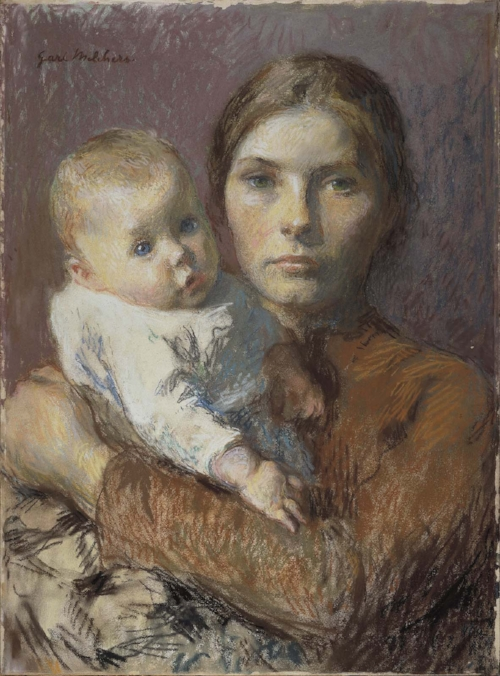 Mother and Child   - Gari Melchers, 1904