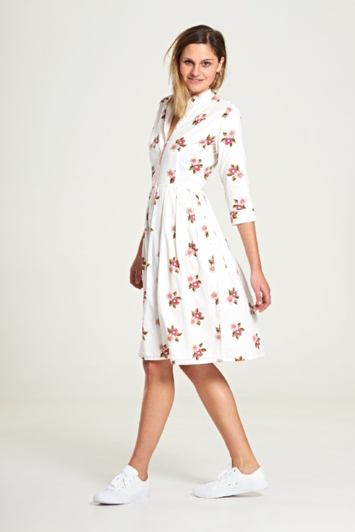 Isla Dress in French Bloom