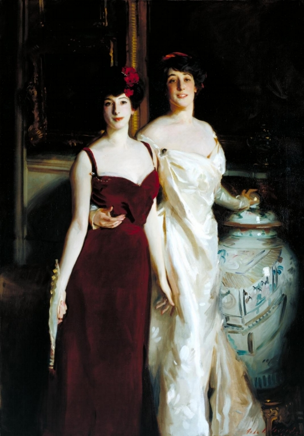 Ena & Betty, Daughters of Asher and Mrs. Wertheimer  - John Singer Sargent, 1901