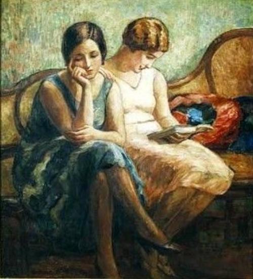 Two Friends -  Georgina de Albuquerque, 1930