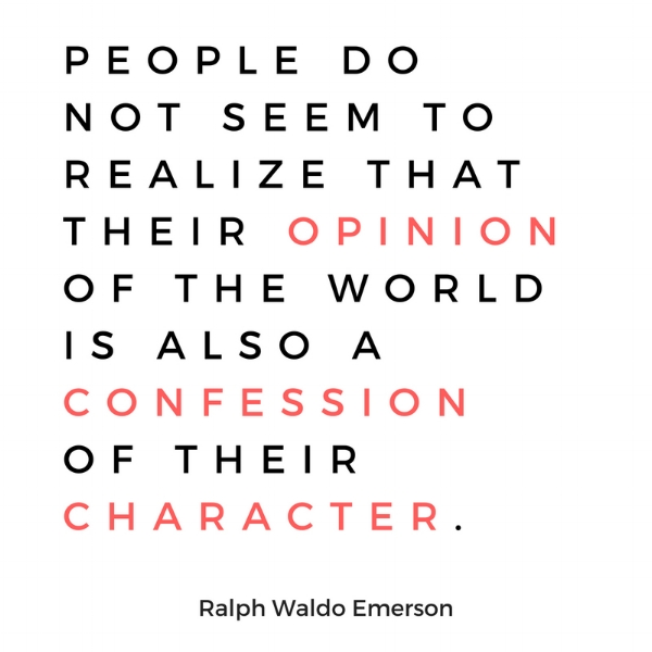 Quote Ralph Waldo Emerson Makes A Case For Character A Well Spent Day
