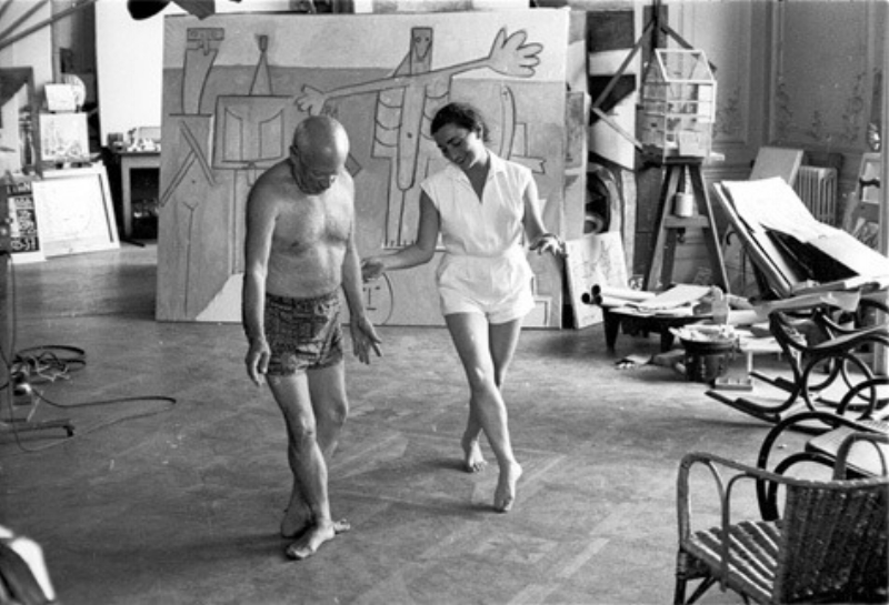 Picasso learning ballet...