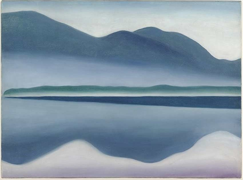 Lake George   - Georgia O'Keeffe, 1922