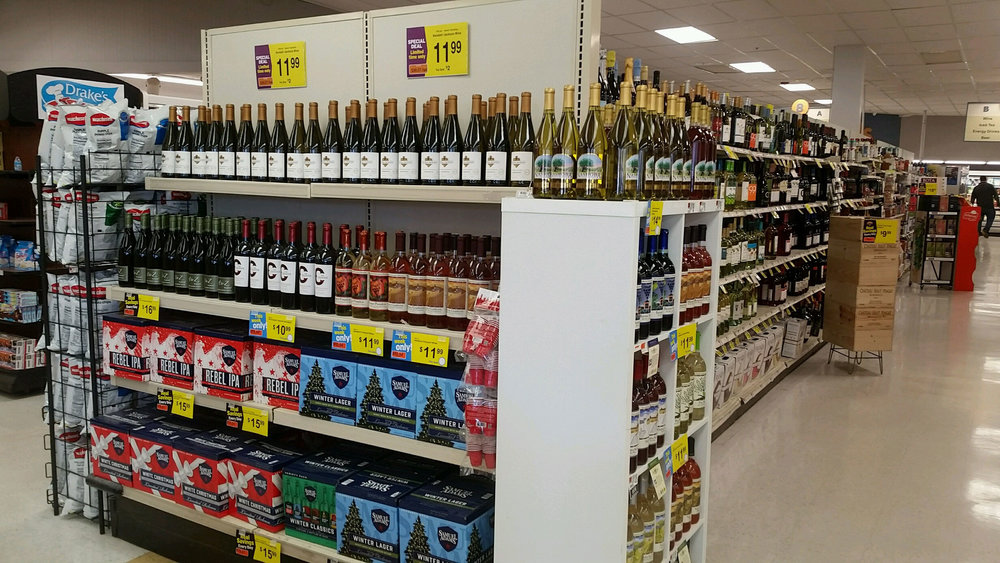 Ayer Shop 'n Save_Beer and Wine Department