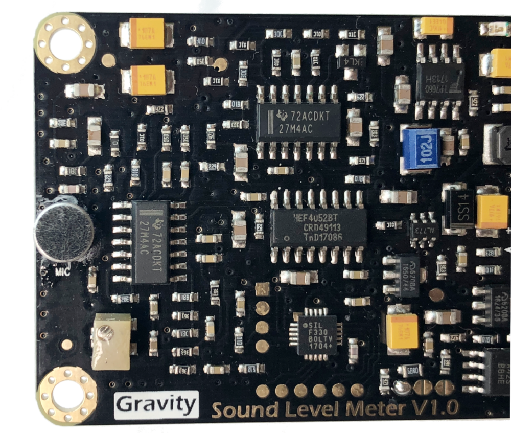 Gravity: Analog Sound Level Meter from DFRobot