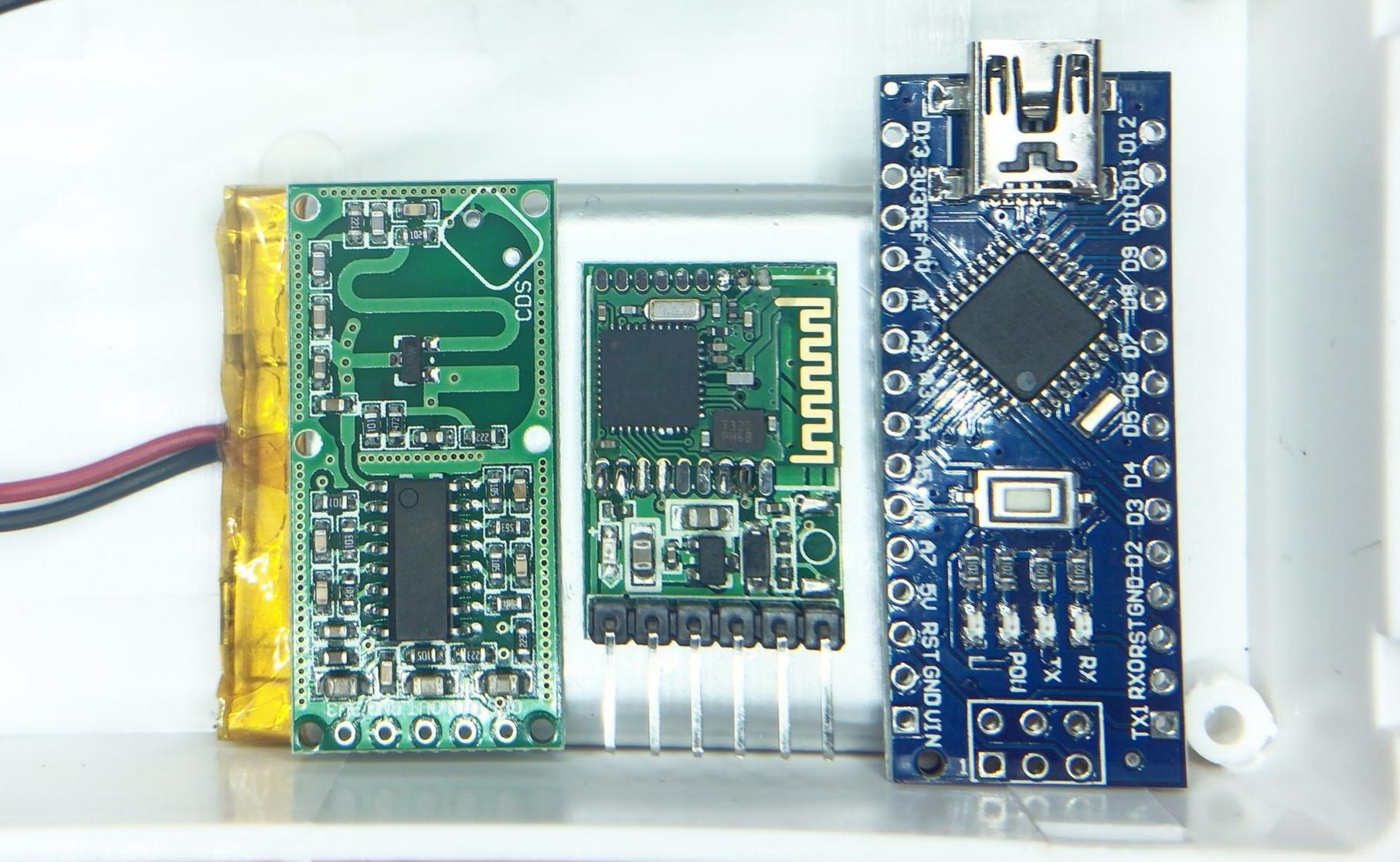 Arduino wall penetrating motion sensor using the rcwl 0516 microwave