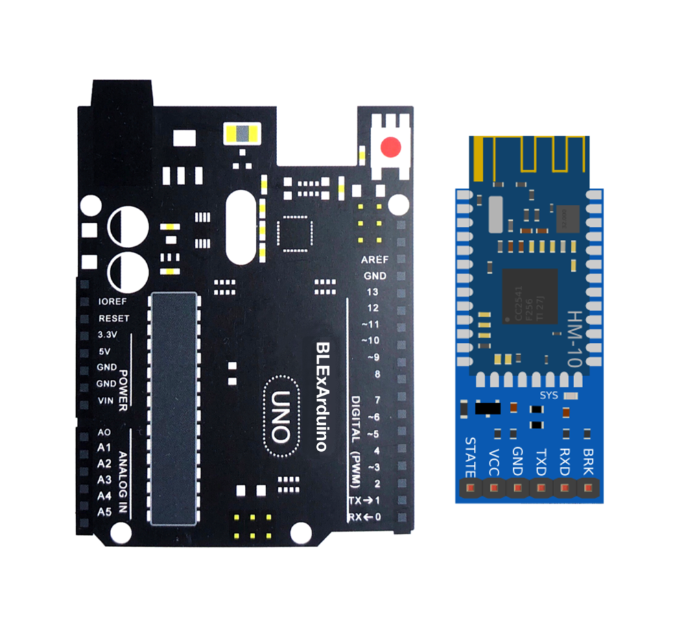 Click to Purchase BLExAR Board and HM-10 Bluetooth Kit