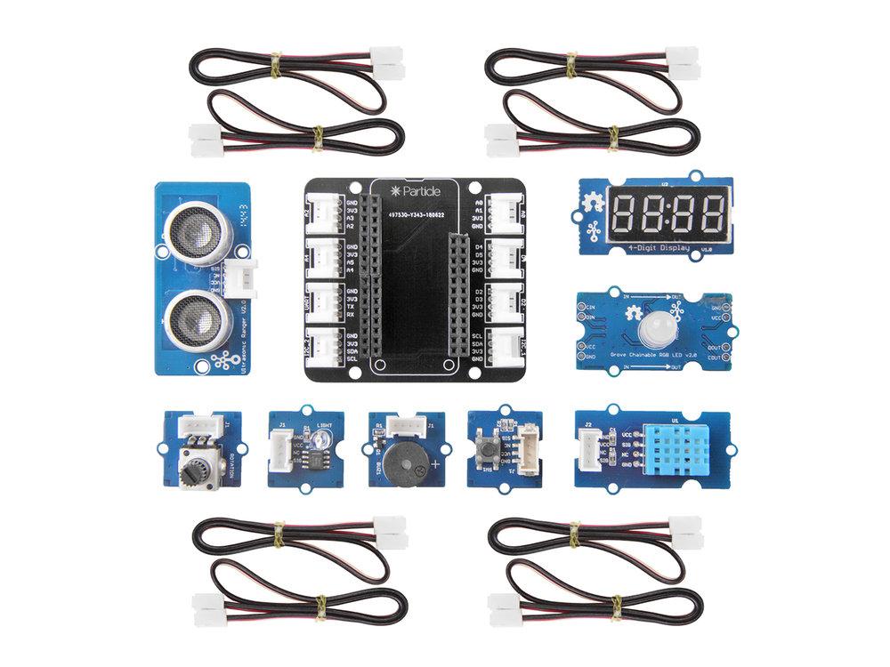Grove Sensor Kit (with HC-SR04 Ultrasonic Sensor)