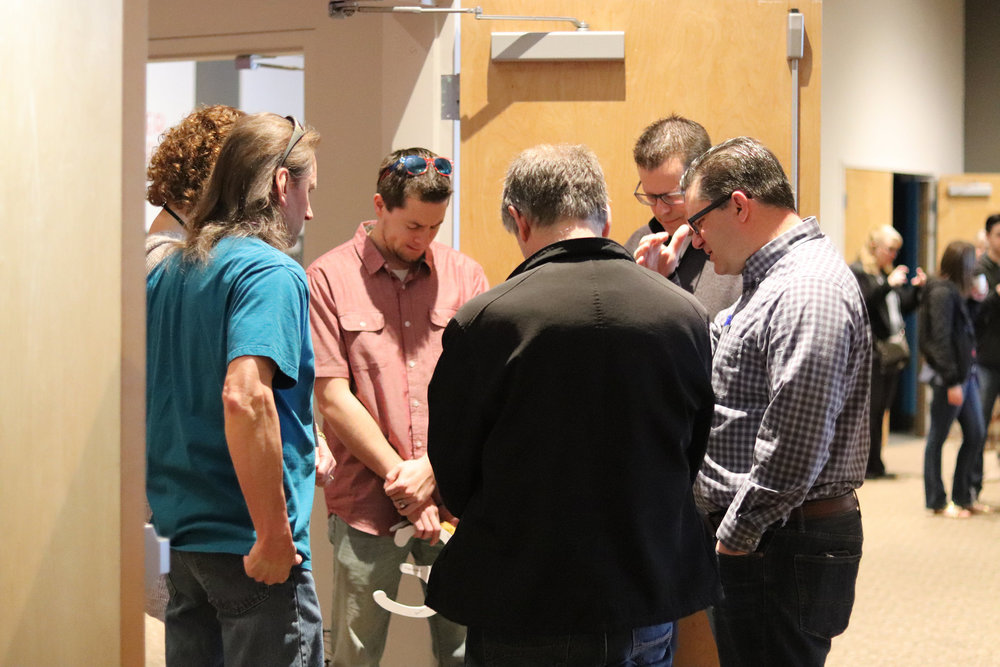 More than 400 people attend one of our small groups. -