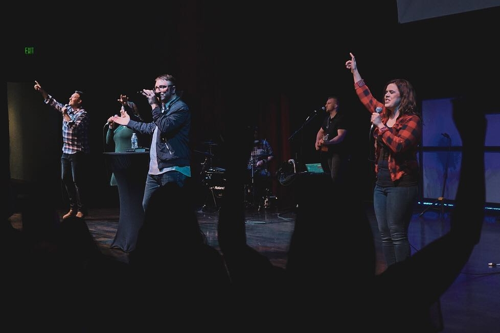 We sent a missions team to Nampa, Idaho to help launch One Life Church. 35 people have made decisions for Christ! -