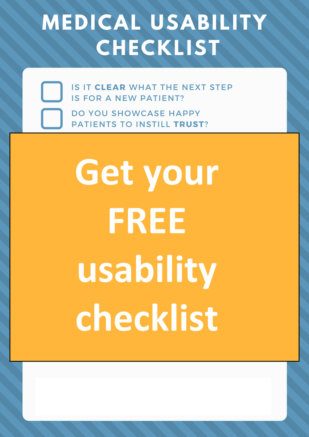 Fair or not, new patients are judging you on how easy-to-use your website is. -