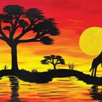 African Safari (giraffe)