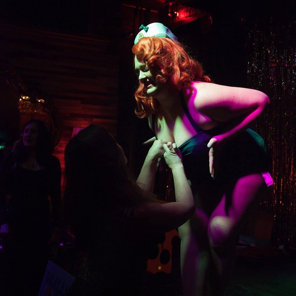 Go-Go Dancing for Magical Girl Burlesque at Bizarre