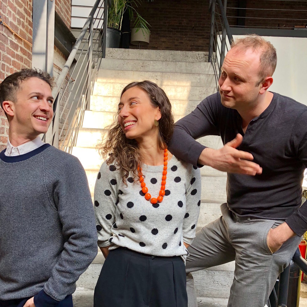 Your consulting team (from left)Brett Moses, Danielle Florio, and Mark Losinger